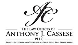Anthony J. Cassese, Esq. The Law Offices of Anthony J. Cassese, PLLC